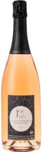 Vin pétillant méthode traditionnelle rosé
